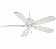 Casablanca 54010 Compass Point Cottage White Finish Ceiling Fan With Blade Options