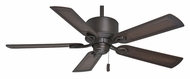 Casablanca 54011 Compass Point Damp-Rated Maiden Bronze Finish Ceiling Fan With Blade Options