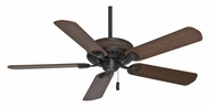 Casablanca 54001 Ainsworth Transitional Brushed Cocoa Finish Ceiling Fan