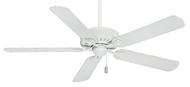 Casablanca 55000 Ainsworth Cottage White Finish Transitional 60 Inch Span Ceiling Fan