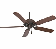 Casablanca 55001 Ainsworth 60 Inch Span Brushed Cocoa Finished Ceiling Fan With Walnut Blades