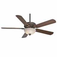 Casablanca 55006 Ainsworth Gallery Onyx Bengal Finish Walnut Blade Home Ceiling Fan With Lamp