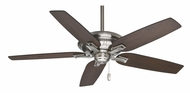 Casablanca 55016 Brescia With Pull Chain Brushed Nickel Home Ceiling Fan With Blade Options