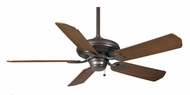 Casablanca 54030 Capistrano Pull Chain Brushed Cocoa Home Ceiling Fan With Blade Options