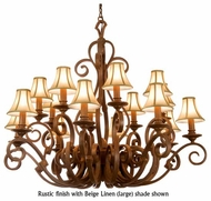 Kalco 4263 Ibiza 16-Light Traditional Candle Chandelier