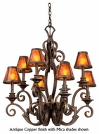 Kalco 4261 Ibiza 8-Light Traditional Candle Chandelier