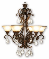 Artcraft AC1830 Florence 6-Light Chandelier