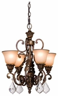Artcraft AC1844 Florence 4-Light Mini Chandelier