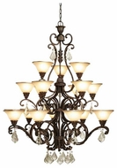 Artcraft AC1831 Florence 18-Light Chandelier