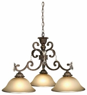 Artcraft AC1828 Florence 3-Light Chandelier