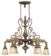 ELK 21616 Regency Traditional 6-Light Oval Chandelier