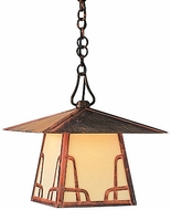 Arroyo Craftsman CH-12 Carmel Craftsman Outdoor Chain Hung Pendant - 12 inches wide