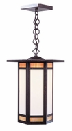 Arroyo Craftsman ETH-9 Etoile Craftsman Outdoor Hanging Pendant Light - 8.5 inches wide