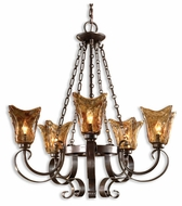 Uttermost 21007 Vetraio 5-Lamp Chandelier