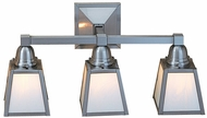 Arroyo Craftsman AS-3 A-Line Craftsman 3-Light Bathroom Fixture
