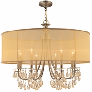 Crystorama 5628 Hampton 8-Lamp Chandelier