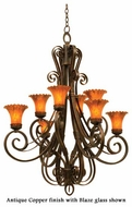 Kalco 5188 Mirabelle 8 Light Chandelier