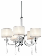 Kichler 42631CH Parker Point 5-light Small Chandelier