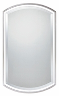 Quoizel QR1419BN 35 Inch Tall Arched Wall Mirror - Brushed Nickel