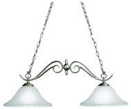 Kichler 2929 Willowmore 2 Lamp 34 Inch Traditional 34 Inch Long Island Light Fixture
