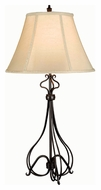 Kenroy Home 32189BB Wallis Contemporary Burnished Bronze 32 Inch Tall Table Lamp