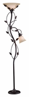 Kenroy Home 32241ORB Ashlen Oil Rubbed Bronze 72 Inch Tall Torch Lamp With Reading Light