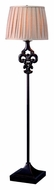 Kenroy Home 32243ORB Fleur 60 Inch Tall Pleated Shade Floor Lamp - Oil Rubbed Bronze
