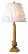 Kenroy Home 32244NWG Jobe Natural Wood 30 Inch Tall Antique Table Lamp