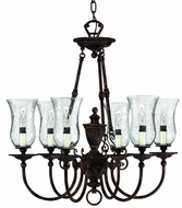 Hinkley 4626FB Bronze Rockford 6 Light Small Victorian Chandelier