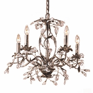 ELK 8053-5 Circeo Rustic 21 inch 5-Light Chandelier