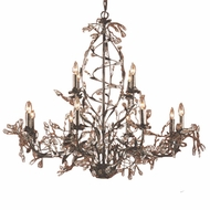 ELK 8055-8+4 Circeo Rustic 12-Light Chandelier