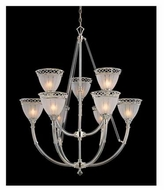 Kenroy Home 3513 Crystallo 9-Light Chandelier