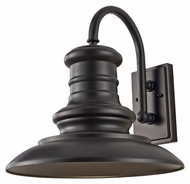 Feiss OL9004RSZ Redding Station Large 15 Inch Diameter Outdoor Sconce Lighting - Restoration Bronze