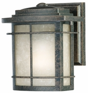 Quoizel GLN8407IB Galen Bronze Craftsmen Outdoor Small 6.5 Inch Diameter Wall Light