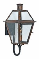 Quoizel RO8410AC Rue De Royal Medium Classic 17.5 Inch Tall Exterior Lantern Copper Sconce