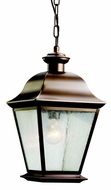 Kichler 9809OZ Mount Vernon Olde Bronze Outdoor Hanging Pendant Light - Small (8.5 )