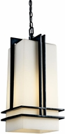 Kichler 49205BK Tremillo Art Deco Incandescent Outdoor Pendant Light