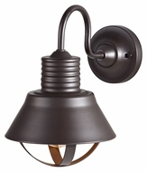Feiss OL8801ORB Derek 12 Inch Tall Nautical Style Oil Rubbed Bronze Exterior Wall Lamp