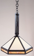 Arroyo Craftsman ETCH-14 Etoile Craftsman Pendant Light - 14 inches wide