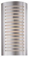 Access 53341 Krypton Contemporary 2 Light 8 inches wide Wall Sconce in Brushed Steel