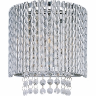 ET2 E2313010PC Spiral 1-light Modern Crystal Wall Sconce