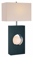 Lite Source LS21651 Huxley 29 Inch Tall Black Contemporary Table Lamp