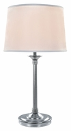 Lite Source LS22193 Newton Chrome 30 Inch Tall Transitional Table Light
