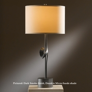 Hubbardton Forge 27-2820 Gallery Single Twist Table Lighting With Socket Dimmer