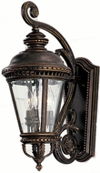Feiss OL1901-GBZ Castle 3-light 22.5 inch Outdoor Wall Light in Grecian Bronze