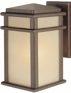 Feiss OL3401-CB Mission Lodge 1-light 12.5 inch Outdoor Wall Light in Corinthian Bronze