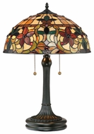 Quoizel TF878T Kami Tiffany Table Lamp