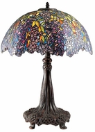 Quoizel TF6034R Laburnum Tiffany Table Lamp in Architectural Bronze
