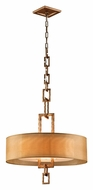 Troy F2874 Link 3-light Medium Modern Chain Link Pendant Light
