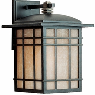 Quoizel HC8409IB Hillcrest 13 inches tall outdoor wall light fixture in imperial bronze